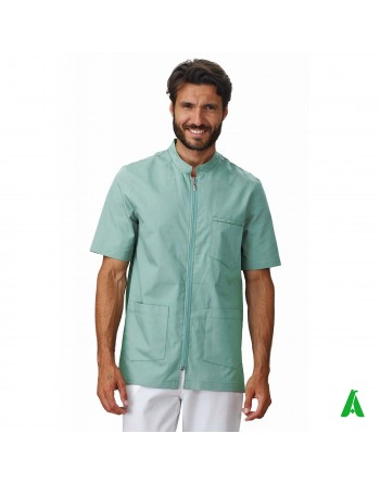 Doctor's coat customizable with printing or embroidery up to 9 colors