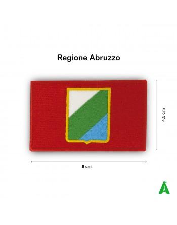 Abruzzo region flag