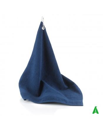 Telo da Golf cm 40 x 50 Art. R05061 Caddie colore blu per i golfisti