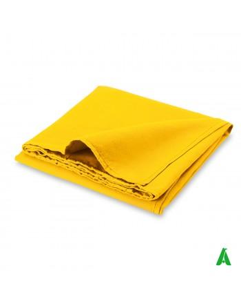 Telo microfibra Multiuso cm 90 x 170 Art. R18260 colore giallo per sport