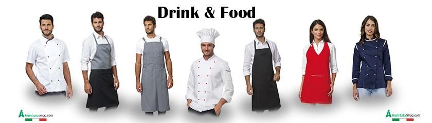 Uniformes personnalisés pour le secteur alimentaire de | Arem Italie