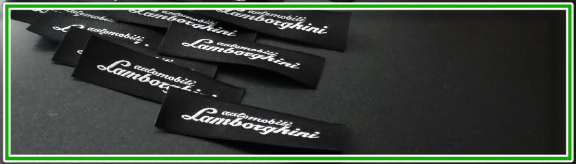 Woven labels to customize your brand by |Arem Italia