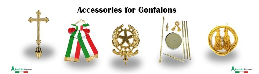 Rod, bishop's belt and accessories for gonfalons by | Arem Italia