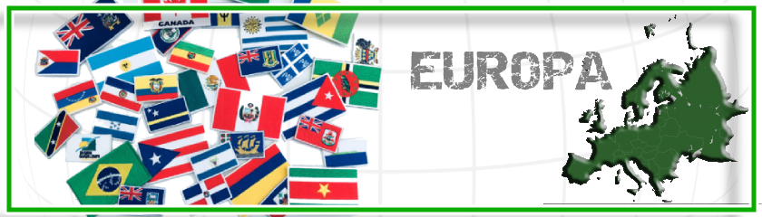 Patches of European flags to customize clothing by | Arem Italia