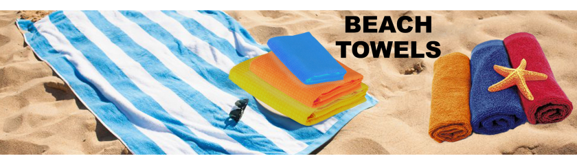 Beach towel in microfiber or terry towels from |Arem Italia