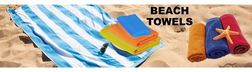 Serviettes de plage en neutre ou avec personnalisation par|Arem Italia