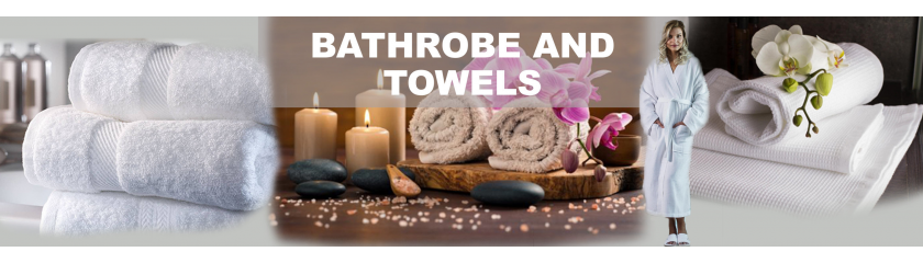 Terry hand towels, bath towels and bathrobes from |Arem Italia