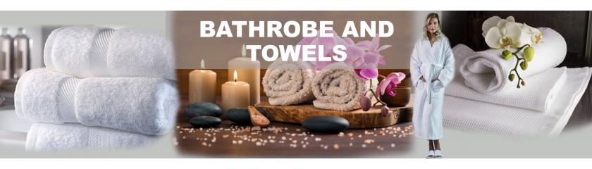 Frotte- oder Waffelpique Bademäntel und Handtücher von |Arem Italia