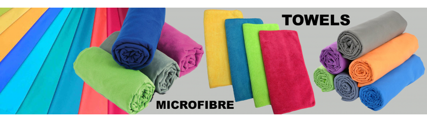 Supply of neutral or customized microfiber towels by |Arem Italia