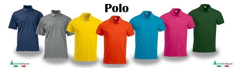 Polo personnalisé avec broderie pour promotionnels de | Arem Italia