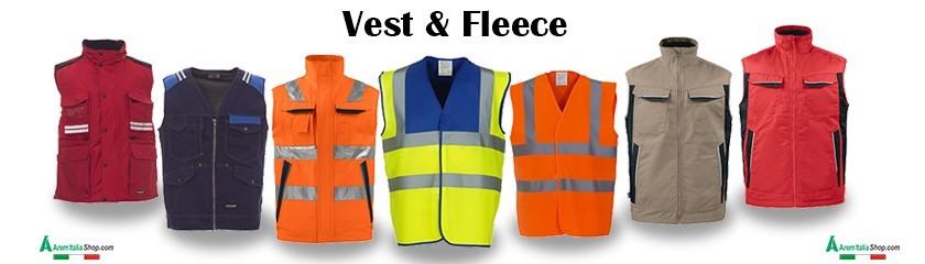 Weste und Fleece-Sweatshirt mit stickerei von | Arem Italia