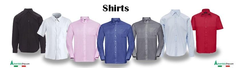 Chemises personnalisées avec broderie ou impression de |Arem Italia