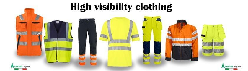 Vêtements haute visibilité avec bandes réfléchissantes |Arem Italia
